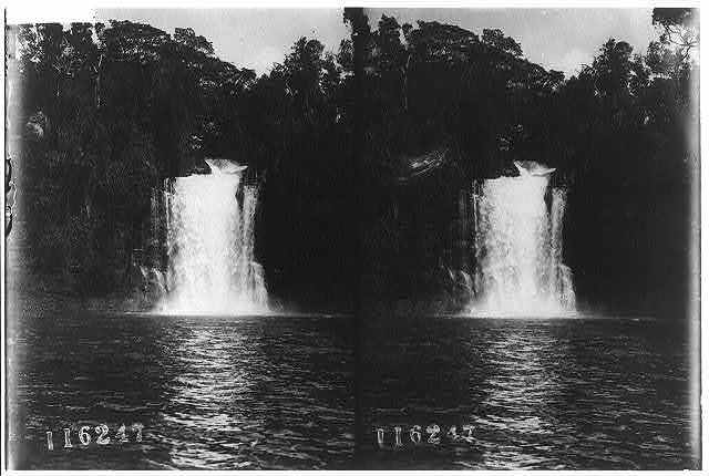 [West Africa, 1909: waterfall]