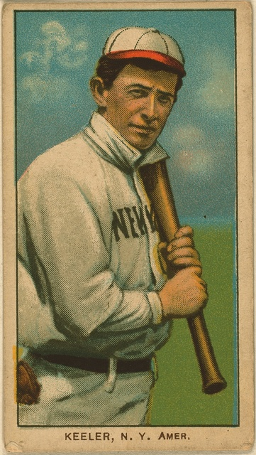 [Willie Keeler, New York Highlanders, baseball card portrait]
