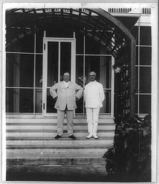 Wm. H. Taft [& Col. Goethals]