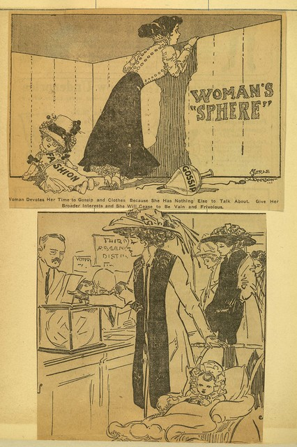 Woman's Sphere: Suffrage cartoons