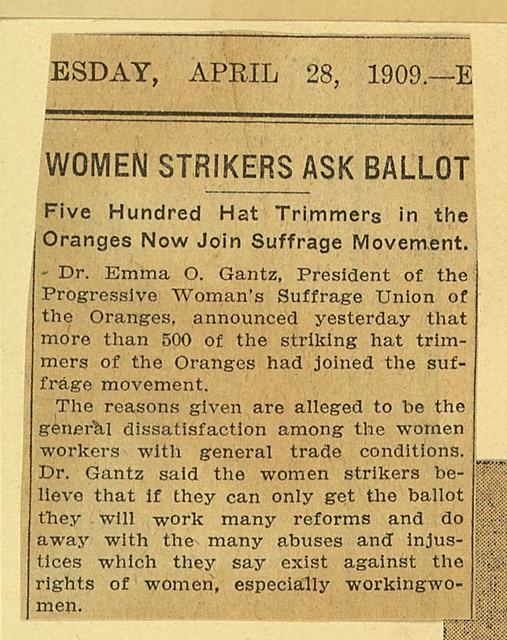 Women Strikers Ask Ballot