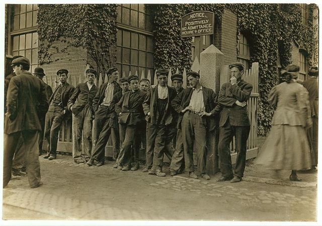 [Workers in Lorraine Mfg. Co.  Location: Westerly, Rhode Island]