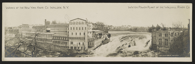 Works of the New York Knife Co., Walden, N.Y.; Water Power Plant of the Wallkill River Co.