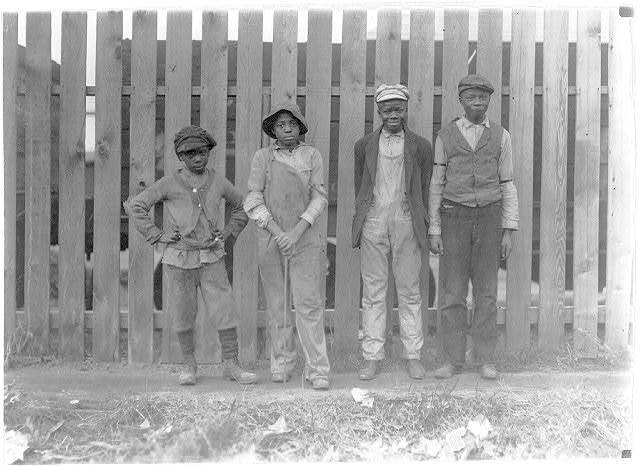 Young negroes working in Cape May Glass Co., N.J. Been there some time.  Location: Cape May, New Jersey.