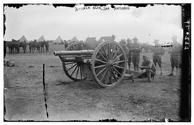 3-inch gun, San Antonio