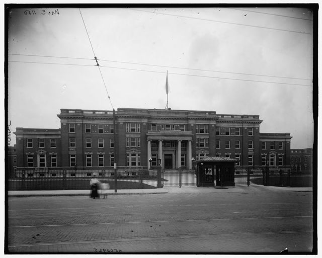 [Administration bldgs., Cincinnati General Hospital, Cincinnati, Ohio]