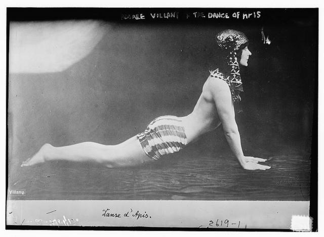 Adoree Villany in the Dance of Apis