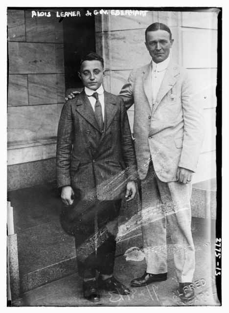 Alois Lerner & Gov. Eberhart