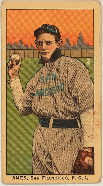 [Ames, San Francisco Team, baseball card portrait]