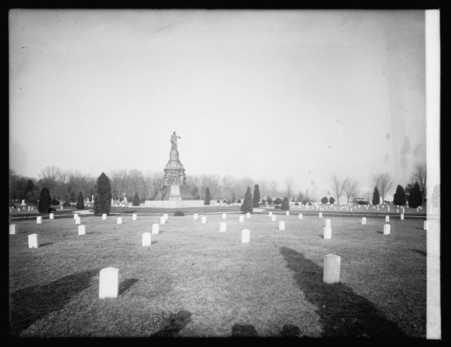 Arlington Cemetery, [Virginia], confederate section