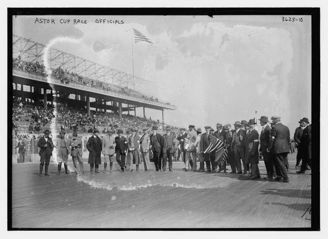 Astor Cup race officials