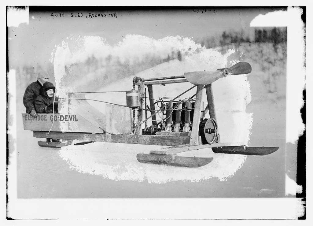 Auto sled, Rochester