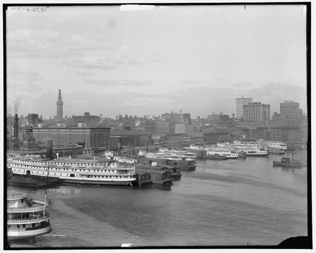 [Baltimore, Maryland, skyline and waterfront]