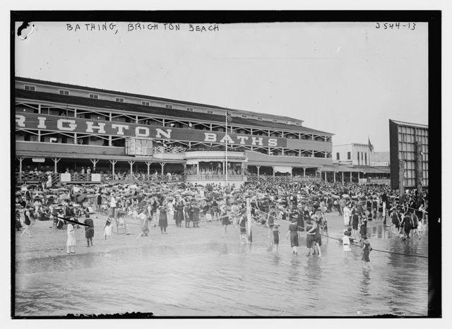 Bathing, Brighton Beach