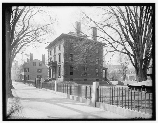 [Bertram-Waters House (Salem Public Library), 370 Essex Street, Salem, Mass.]