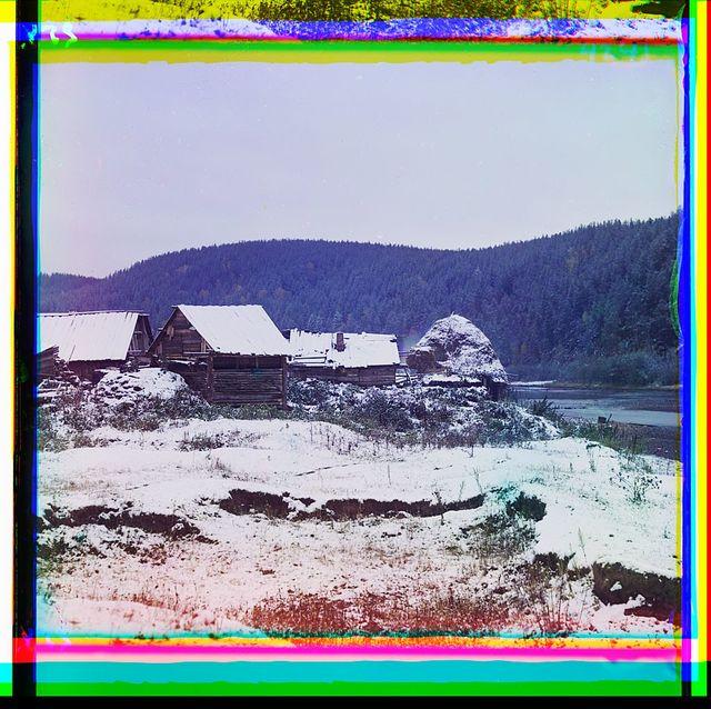 Bliz stant︠s︡īi Vi︠a︡zovai︠a︡ Samar-Zlatoust. zh. d. 12-go senti︠a︡bri︠a︡ 1909 g.