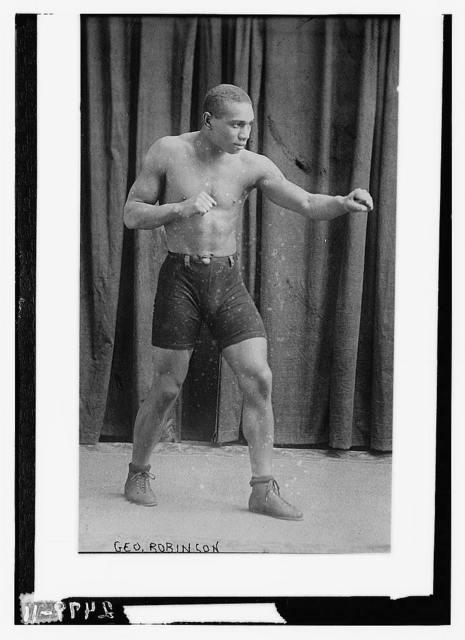 [Boxer George Robinson]