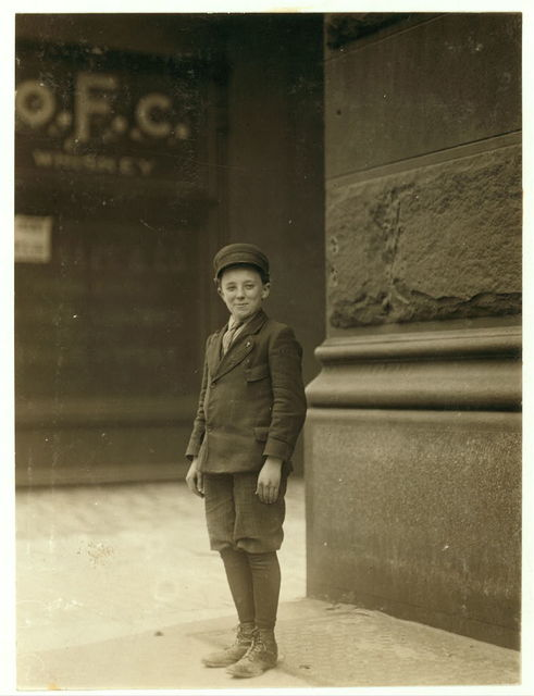 Boy working in Inland Type Foundry, May 12th, 1910.  Location: St. Louis, Missouri.