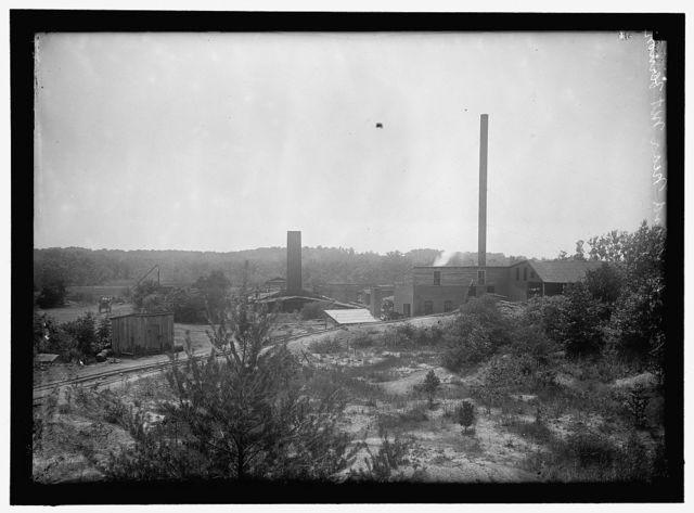 Brick yard near Mount Vernon