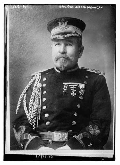 Brig. Gen. Joseph W. Duncan in uniform