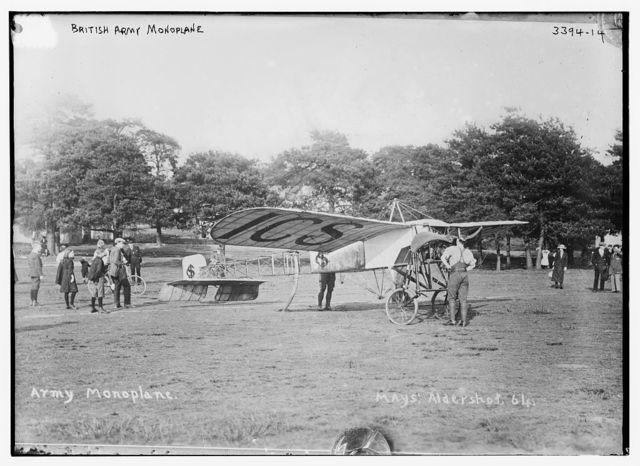 British Army Monoplane