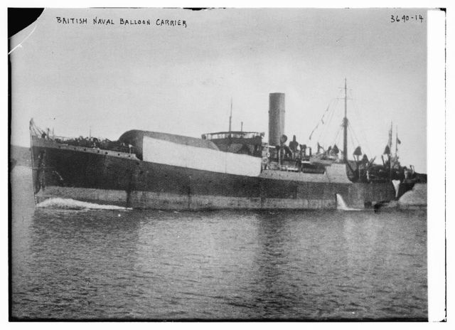 British Naval Balloon Carrier
