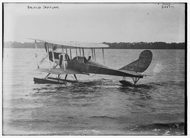 British seaplane