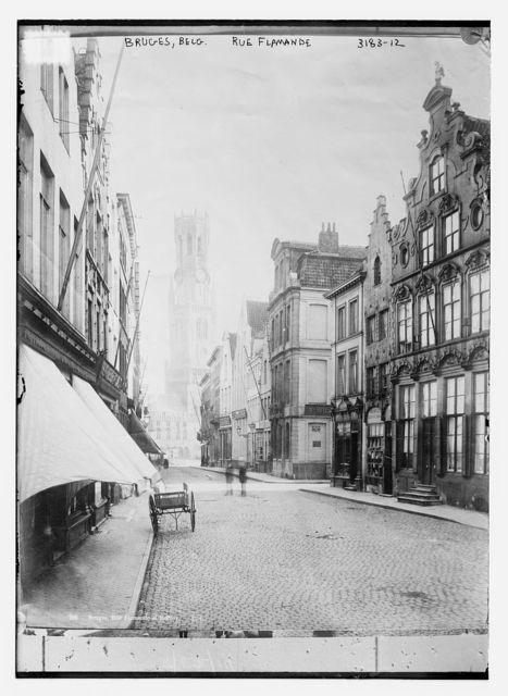 Bruges, Belgium -- Rue Flamande