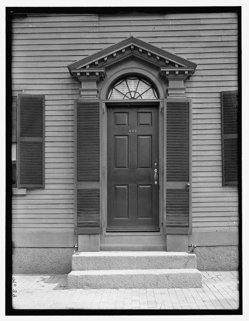 [Burrill House, 385 Essex Street, Salem, Mass.]