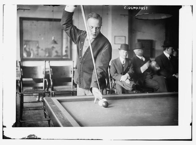 C. Demarest [billiards - pool]