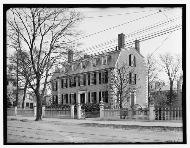 [Cabot-Endicott-Low House, 365 Essex Street, Salem, Mass.]