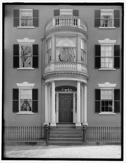 [Captain Thomas Saunders House, 39 Chestnut Street, Salem, Mass.]