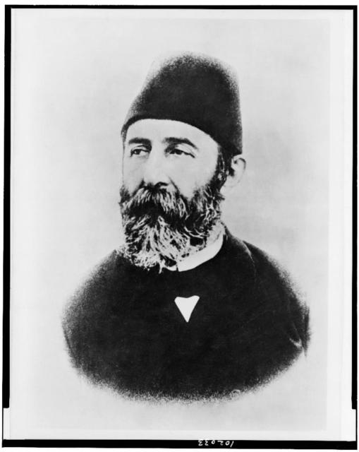 [Cemal Paşa, head-and-shoulders portrait, facing left]