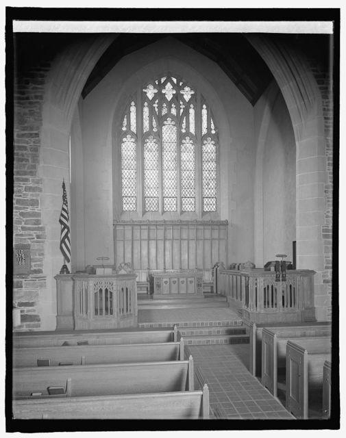 Chevy Chase Presbyterian Church, [Washington, D.C.]