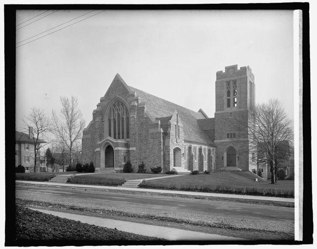 Chevy Chase Presbyterian, [Washington, D.C.]