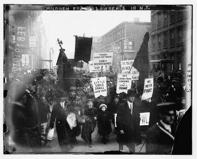 Children from Lawrence in N.Y.