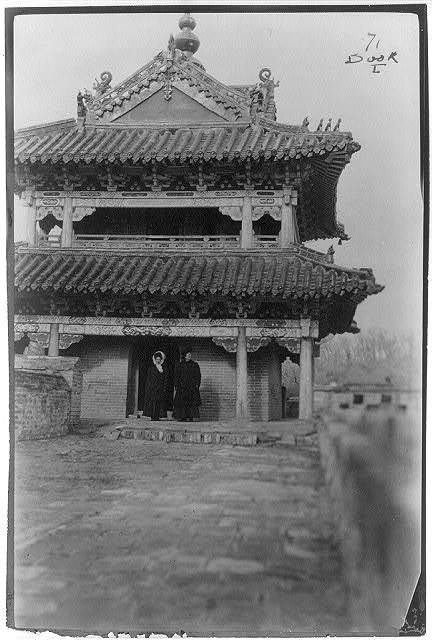 China - [Pagoda] on the Great Wall at Shan-Hai-Kwan