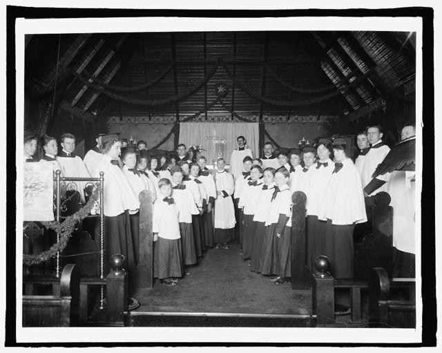 Choir, Emanuel M.E. Church, Anacostia, [Washington, D.C.]