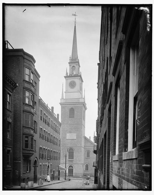 [Christ Church (Old North), Boston, Mass.]
