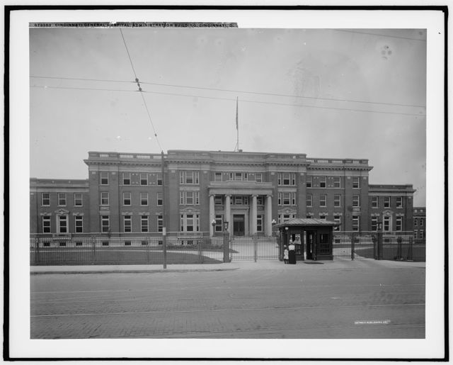 Cincinnati General Hospital, administration building, Cincinnati, O[hio]