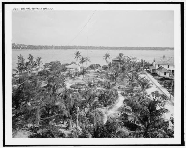 City park, West Palm Beach, Fla.
