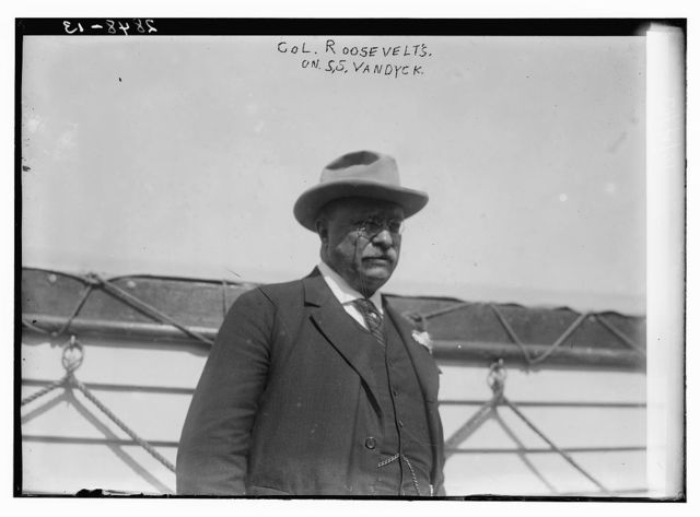 Col. Roosevelt on S.S. VANDYCK