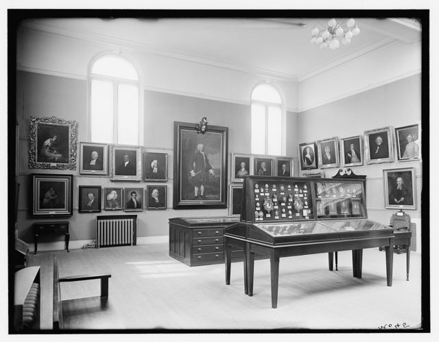 [Colonial portraits, Essex Institute, Salem, Mass.]