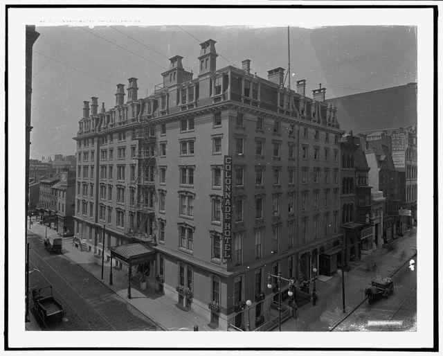 Colonnade Hotel, Philadelphia, Pa.