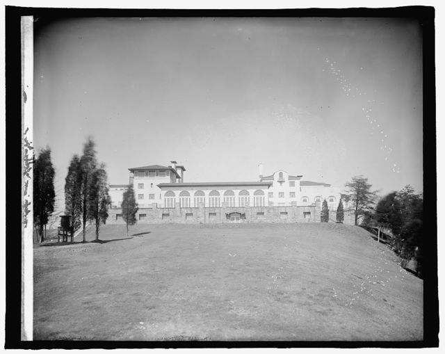 Cong. Country Club, [Bethesda, Maryland], exterior