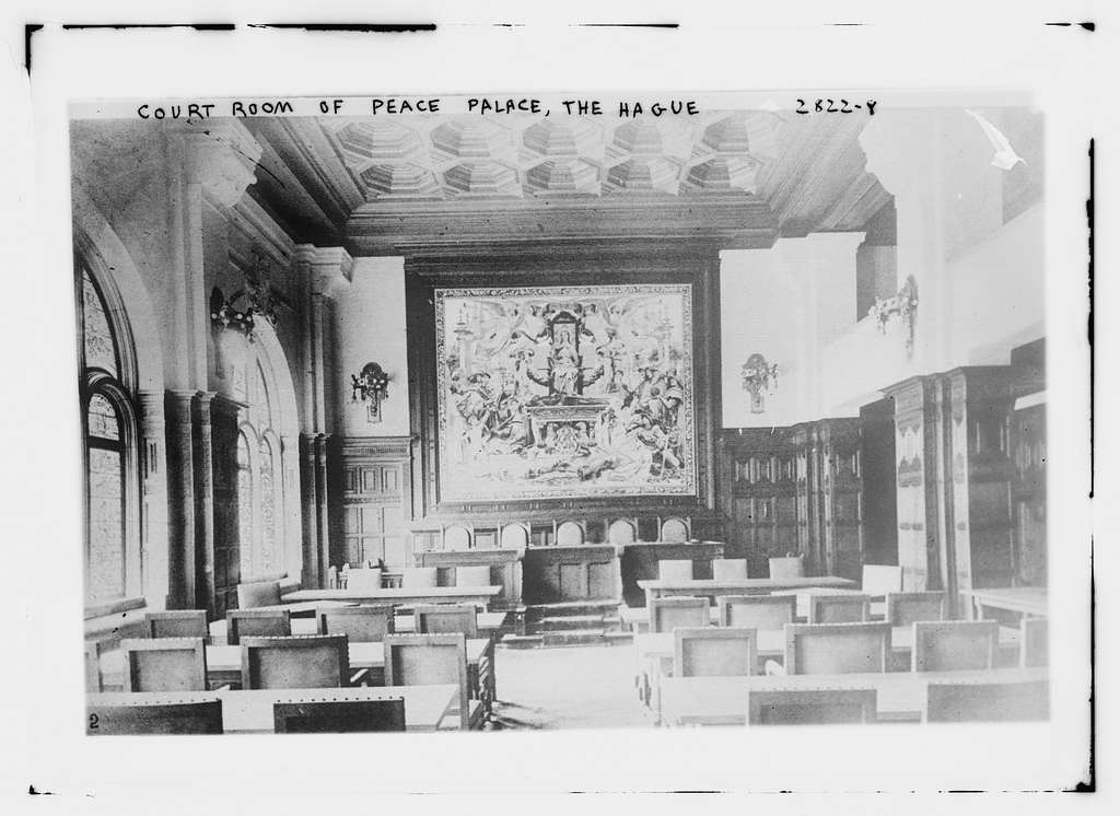 Ct. Room of Peace Palace, the Hague