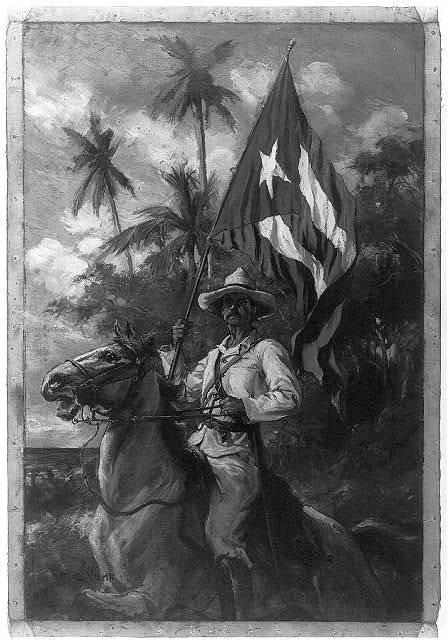 [Cuban standard bearer]