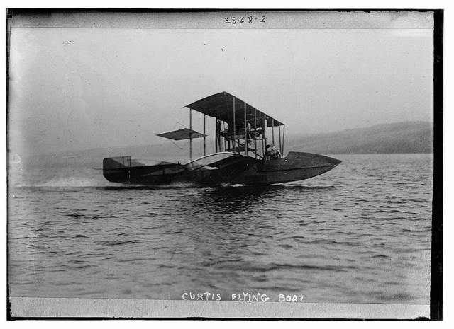 Curtis[s] flying boat
