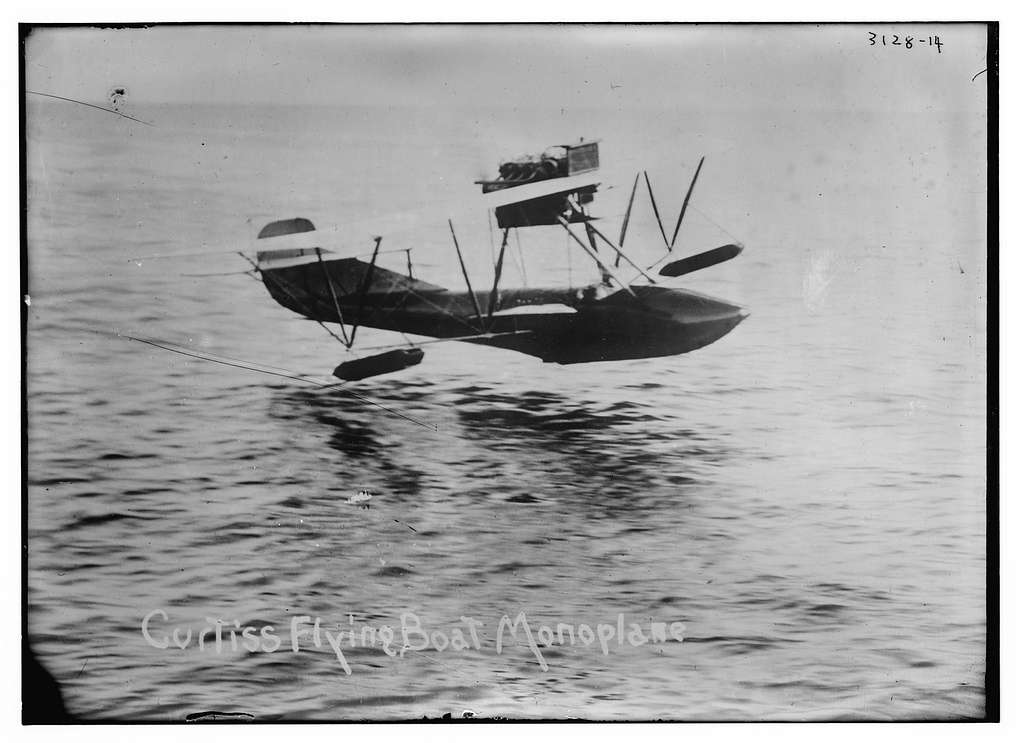 Curtiss Flying Boat Monoplane