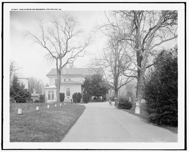 Custis-Lee Mansion [Arlington House], Arlington, Va.